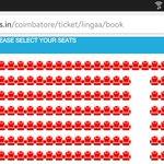 #Lingaa availability in satyam cbe today #superstar #thalaivar @ErosNowSouth @Rajini_F_C @LingaaTheMovie http://t.co/yPcc1eUgcC
