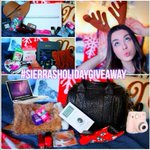 All I want for Christmas is #sierraholidaygiveaway  🙋🎅💕❄⛄🌙 Love you to the moon and back  XOXO from India💜 2111 http://t.co/56teCdlfst