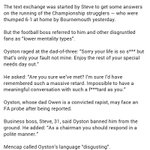 Oyston Sun article here. As the parent of a Special Needs child, Im disgusted. Boycott until hes gone if true. http://t.co/IDbo2nEkFb