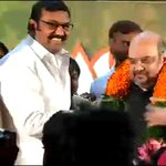 Former Union minister and DMK strongman D Napoleon joins BJP in the presence of party president Amit Shah http://t.co/E7Q6oZiisN