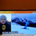 """@Peyragudes : """" soleil et neige sont au rendez vous """" via @itele #ski #montagne #neige http://t.co/aiKqKeDIPY"""
