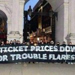 Crystal Palace banner outside the Premier League HQ yesterday. #CPFC http://t.co/n4xOfSSz18