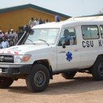 Le PAN @SOROKGUILLAUME a offert une ambulance et une enveloppe de 5 millions pour lachat de médicaments #GKS http://t.co/yHUmBOytCx