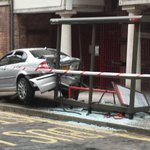 How did this happen Sunday morning in #Wapping High St? Car not stolen, police looking for driver http://t.co/16EJ3yTp8s