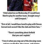 Arsenal legend @ThierryHenry on Liverpool. #LFC #Gerrard #LIVARS http://t.co/SOlsFmlana