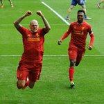 Destroying Arsenal. What a feeling. Skrtel knows. #LFC #LIVARS #FiveOne http://t.co/sbrCKxh90G