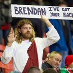 Brendan Rodgers has some pretty holy support. #LFC #LFCvAFC http://t.co/a96oXHl4dh