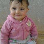 #سوريا #درعا #بصر_الحرير الشهيدة الطفلة جنى ياسين الحريري ( 5 أشهر ) ارتقت مع أمها قبل قليل بغارات الطيران الحربي http://t.co/QHhI7uaTEz