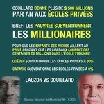 """""""@DavidAutruche: Ts les choix «économiques» de #couillard sont en fait des choix politiques. #polqc #Éducation http://t.co/0mA8NTohwk"""""""