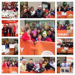 Look at our awesome crowd today... come visit us again!  #TODAYPlaza
