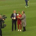 Winner of Euro U21 golden boy award, Raheem Sterling. Only 2nd Englishman after Rooney to win in 12 yrs it has run http://t.co/8tRjOIsgXG
