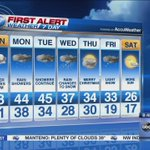 See whats ahead for the week in @SchwarzABC7s seven-day forecast: http://t.co/FwbQWmsJoG http://t.co/FrG0Uo1zWb