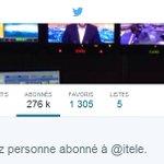 Jai retiré mes 300 abonnés à @itele, 100 à @canalplus Cest INDOLORE pour mon compte TWITTER. AYEZ DES COUILLES! http://t.co/pGvTlUzCyp