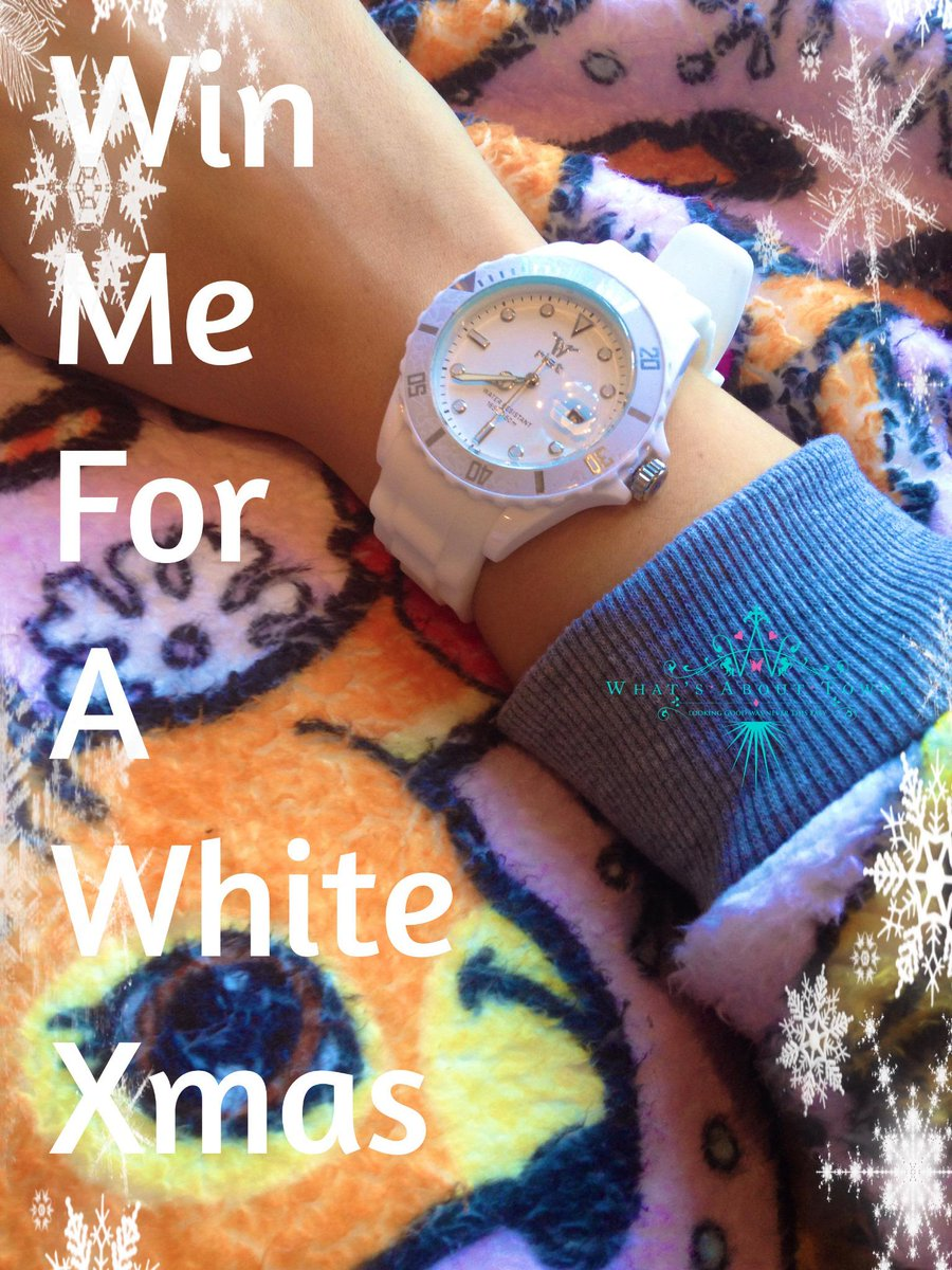 Get this Fantastic White Watch worth £70 just RT and Follow to Win ends midday 23/12 #win #competitions #giveaway http://t.co/NtaBIshi71