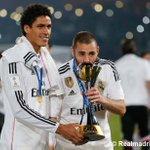 Club World Cup celebration !! Celebración del Mundial de Clubes en el césped del Gran Estadio de Marrakech http://t.co/OF4ZC7cajL