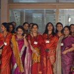 Navrachana Vidyani teachers all geared up for the grand event. #NAV50 #AnandibenPatel http://t.co/ZNTl7Pf2yK