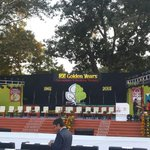 Were ready to welcome Gujarat CM Smt #AnandibenPatel at #NAV50 http://t.co/VsxiJjZi7g
