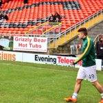 Celtic winger James Forrest heads out for the pre-match warm up before making another start for the Bhoys. (MD) http://t.co/nBrY2gywZ2