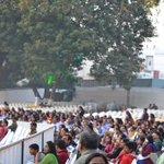 The crowd seems to be super excited #NAV50 #AnandibenPatel http://t.co/9UjwUAN85j