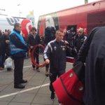 De bus van Feyenoord is aangekomen in Breda voor het laatste duel van 2014. Voorspellingen? #nacFEY http://t.co/n5jemUVTxs