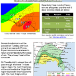 See attached graphic for details on the threat for severe storms and heavy rainfall this week.  #flwx #gawx #alwx http://t.co/WpQpJczU9m
