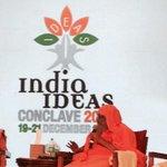 Swami Dayanand Saraswati ji, Convenor, Hindu Dharm AcharyaSabha is present here to bless the pious cause @IICGoa2014 http://t.co/ZJeDuzooXb