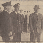 Favourite #Plymouth History Xmas countdown:King George VI and President Truman aboard HMS Renown #Plymouth Sound 1945 http://t.co/LI9H5ZbJNs