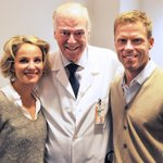 30,000+ cancer tests have been done w/ MGH Koivu Foundation-purchased PET scan. Saku w/ Hanna, Dr. David Mulder http://t.co/qw6Xj195TU