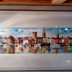 Fab watercolour painting of Waterford by Maeve Doherty @WaterfordCounci @MulliganEddie @maryroche #lovewaterford http://t.co/tv1M6wDiCo