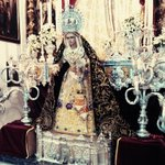 Así luce Ntra. Sra. del Buen Fin en su Besamanos, en la Parroquia de San José y Espíritu Santo (Campo de la Verdad). http://t.co/Bd0Qj0Tr9r