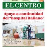 Esta es la portada de nuestro Diario El Centro hoy. #Talca http://t.co/PJRls9cXOG