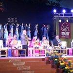 We welcome Smt #AnandibenPatel to the #NAV50 Golden Jubilee Innagural Celebrations. http://t.co/8pEMkbJl98