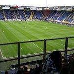 EN DAN IS ALLES WAT JE HOORT! Uitverkocht uitvak in Breda: 750 man. Wat gaan we doen vandaag?! #Feyenoord #nacFEY http://t.co/tHJY6VPciL
