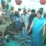 A very fulfilling visit to Dang concludes with inauguration of the beautiful Flower Festival http://t.co/TmDLH1lr1p