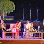 STAGE VIEW!!! #Nav50 #Anandibenpatel #tlearn http://t.co/TdmOROQujG