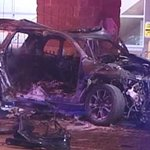 2 killed, 1 injured after SUV hits light pole in South Loop: http://t.co/swt91hpMyG http://t.co/k9qFphSVfl