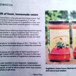 Guglielmo Sauce is todays TRENDWATCH in the @DandC! Thank you so much @marychaostyle! #ROC http://t.co/RsCIDzdAr7 http://t.co/t7WIsWyAw9