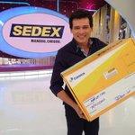 Mesmo sendo de outra emissora, somos amigos. Por isso, mandamos este SEDEX para o Rodrigo Faro @horadofaro http://t.co/vhT2kix7Ow