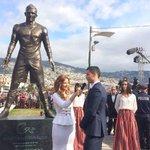 [#Portugal] Ronaldo inaugure sa statue à Madère http://t.co/gFNn6rDqMe