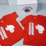 Ya tenemos en EXCLUSIVA las camisetas oficiales de la película  Grandes Héroes. RT si te gustaría ganar te una. http://t.co/NIXa9nl78H