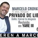 """Preso durante protestas de Febrero Abogado Crovato intenta suicidarse en Yare III"""" http://t.co/kg8HUfeuyG http://t.co/teV2joYlTe"""