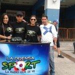 @LaPrensa_Sport 100.1 fm informando y regalando premios a los aficionados desde el Capwell en la previa CSE vs BSC http://t.co/rq7Z1WLxEu