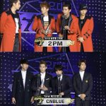 "#SBSGAEYODAEJUN continues: #2pm wins ""Global Star"", #CNBLUE wins ""Best Band"" http://t.co/GmAObV8di9 http://t.co/KCcwGE3hEL"