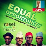Time to reset Nigeria from d hands of clueless government for change! Buhari is d man! @trueNija @APCNigeria @egbas http://t.co/gYM8JXSR0e