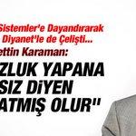 """Hayrettin Karaman: Yolsuzluk Yapana Hırsız Denmez ADAM YOLSUZLUĞA DAVET EDIYORhttp://t.co/BALrGbJzVz #GugukDevleti http://t.co/rfvoO8E5Gc"""""""