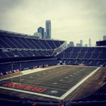 Soldier Field before the final #Bears home game of 2014 http://t.co/moZBVMI0gg