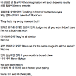 [TRANS] 141221 SBS GAYO DAEJEON MINOS LYRICS IN BORN HATER http://t.co/7dYX3ZjmK6