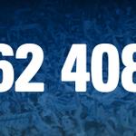 Cest officiel, record battu ! 62 408 ! #OMLOSC http://t.co/kxRZxgrdK1