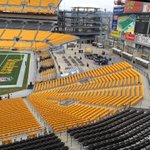 A quiet Hienz Field. Need this win!! #ChiefsKingdom #BeatTheSteelers #BeatPittsburgh #KCvsPIT http://t.co/H0dU04cftM