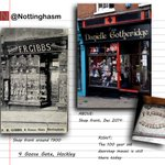 A photo comparison of 4 Goose Gate, #Nottingham http://t.co/gY4ZN9p3XC